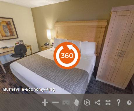 Economy King in LivINN Hotel Minneapolis South/Burnsville