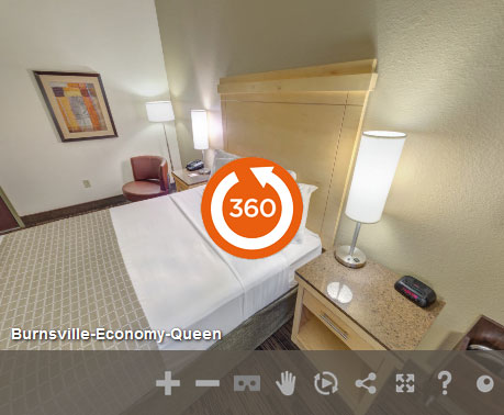 Economy Queen Accessible at LivINN Hotel Minneapolis South/Burnsville
