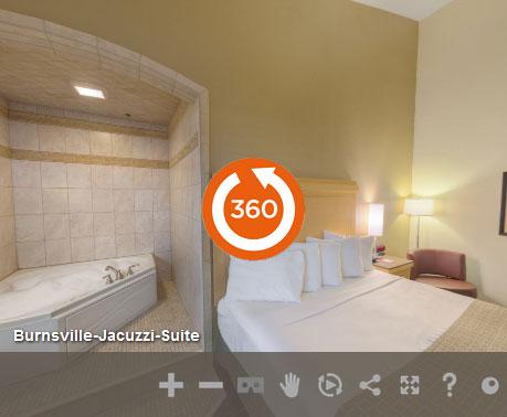 Jacuzzi Suite of LivINN Hotel Minneapolis South/Burnsville