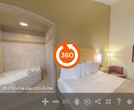 Jacuzzi Suite of LivINN Hotel Minneapolis South/Burnsville