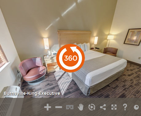 King Executive at LivINN Hotel Minneapolis South/Burnsville