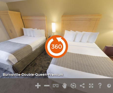 Premium 2 Queen Accessible in LivINN Hotel Minneapolis South/Burnsville