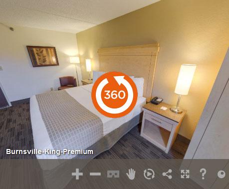 Premium King Accessible at LivINN Hotel Minneapolis South/Burnsville